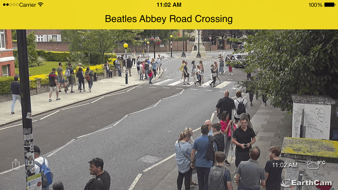 Abbey Road Earthcam