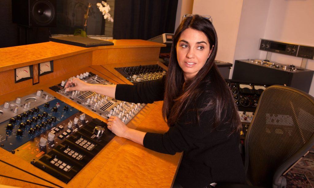Grammy Award-winning engineer Emily Lazar